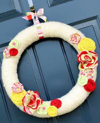 Wreath For Front Door Decorating For Summer Front Door Wreath Scissors U0026 Spatulas