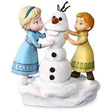hallmark keepsake disney frozen and elsa build a
