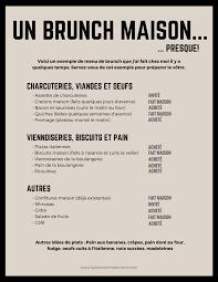 menu for brunch brunch 7 trucs pour recevoir pour le brunch sans tracas la vie