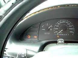 1998 Chevy Cavalier Interior 97 Cavalier Oil Pressure Light Youtube