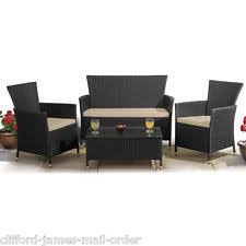 2 Armchairs Patio Summer House Furniture Set 2 Seater Sofa With 2 Armchairs