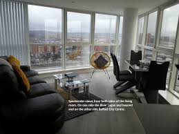 Living Room Furniture Belfast by Self Catering Belfast Laganview Apartment Uk Booking Com