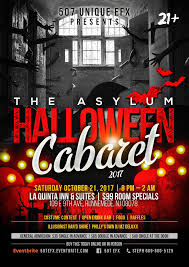 the asylum halloween cabaret 2017 at la quinta inn cherry hill