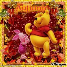 disney autumn autumn pooh fall thanksgiving