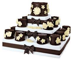 mini chocolate wedding cakes the wedding specialiststhe wedding