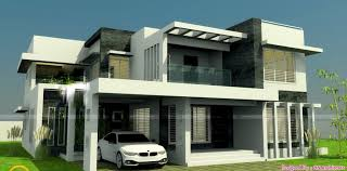 Square Feet  Bedroom New Modern Home Design And Elevation - New modern home designs