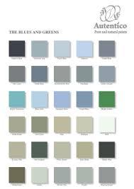 paint colour autentico vintage chalk paint colour chart green colors and chart