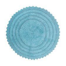 Bathroom Accent Rugs by Blue Round Bath Mats Ebay