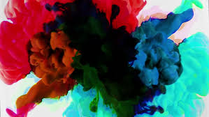 color ink flowing in water stock footage video 13956278 shutterstock