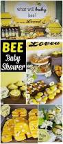 bees baby shower