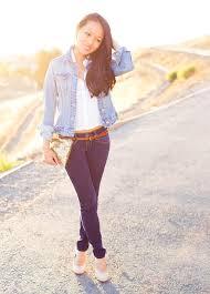 Light Jean Jacket Denim Day Contrasting Denim Jacket U0026 Jeans U2013 Style By Alina