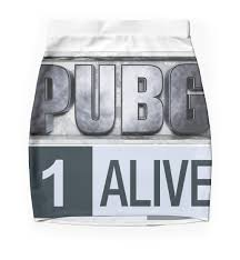 pubg quotes pubg playerunknowns battlegrounds 1 alive mini skirts by