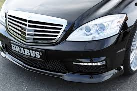 Modified A Class Mercedes Benzboost New Brabus Body Kit For The W221 S Class Mercedes