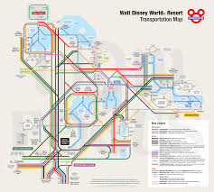 Ttc Map Get To Know The Disney World Transportation And Ticket Center Ttc