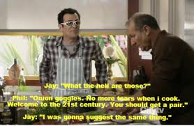 Modern Family Memes - jay takes the clear opening phil set up for him with cutting