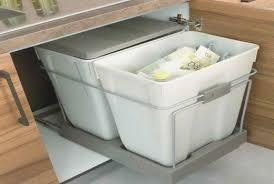 rangement poubelle cuisine meuble poubelle cuisine unique cuisine moderne rangement hostelo