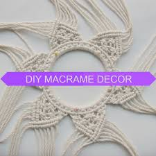 macrame tutorial diymacrame etsy group board of handmade art step by step macrame
