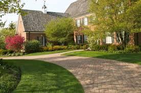 driveway landscaping ideas paved asphalt u0026 gravel driveway designs