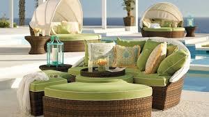 canape resine tressee exterieur design exterieur salon piscine canapé circulaire modulaire lit pare