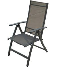 High Back Sling Patio Chairs by Homecrest Palisade Sling High Back Patio Dining Chair Furniture