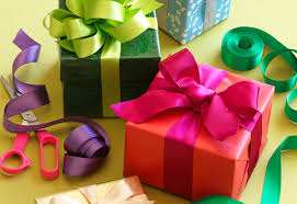 gift wrapping ribbon how to wrap the gift mockingbird paperie