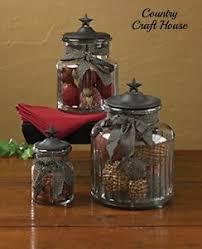primitive kitchen canisters new primitive country kitchen black star glass canister set jar