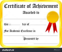 certificate of achievement template selimtd