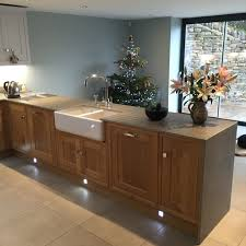 contemporary shaker kitchen by expert kitchen designers in sheffield