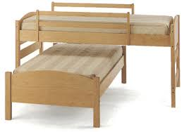 four in one maple bed frame great for children teenagers and