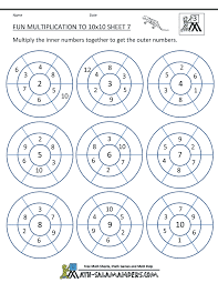 fun multiplication worksheets grade 3 worksheets