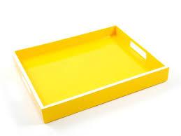 yellow tray yellow trays yellow coffee table trays yellow