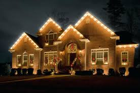 outdoor house christmas lights swag christmas light recycle holiday lights at glen civic center