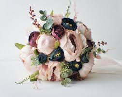 silk wedding flowers wedding bouquets etsy