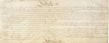 opinions on article three of the united states constitution