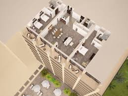 Presidential Suite Floor Plan by Hilton Hawaiian Village 3d Floor Plans