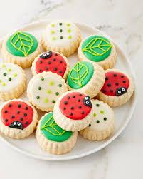ladybug cookies le gourmet baking ladybug shortbread cookies neiman