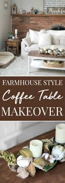 farmhouse style coffee table style coffee table makeover