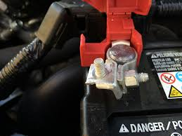 car battery honda civic size of the nut for the postive battery terminal