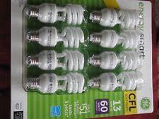 ge energy smart cfl light bulbs 13 watt 60w equivalent fluorescent light bulb 8 pack ge13 watt 60 watt replacement save