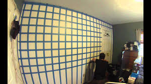 hd 3d cube wall painting time lapse youtube