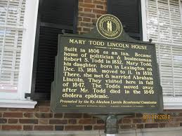 Todd Brickhouse by Mary Todd Lincoln House Clio