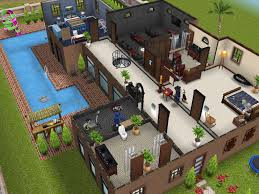 home design story pool home design sims freeplay cool mansion love the center pool area