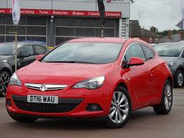 vauxhall red used vauxhall astra gtc cars for sale used vauxhall astra gtc