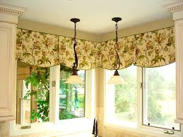 bedroom fetching valance and swag curtains window treatments
