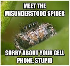 Shower Spider Meme - 15 hilarious spider memes