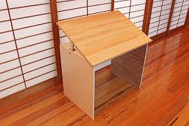 Large Drafting Table Cheap Drafting Table Made From Plywood 4 Steps With Pictures