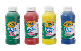 washable paint for walls crayola 4 pack washable ready mix paint crayola amazon co uk
