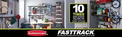 Ball Organizer Garage - rubbermaid fasttrack garage vertical ball rack bed bath u0026 beyond