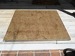 Firepit Mat Deckprotect 16 X 16 Pit Mat Rack Garden