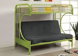 Rainbow Twin Over Futon Bunk Bed - Futon bunk bed